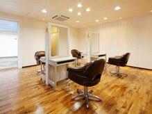 ナフ アトレ ヘアデザイン(naf attrait hair design)の雰囲気(ゆったりとした空間で落ち着いてサービスを受けられます♪)