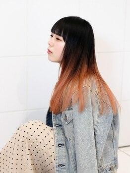 ワーズ フウ(Words-fuu)の写真/【新しい季節に向けて】新しい髪色でイメージチェンジ☆いつもと違うスタイルを楽しみませんか?
