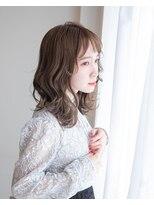 ヘアアンドエステ ヒロイン 西麻布本店(Hair&Esthe HIROIN)『横顔美人』ミディアムカールレイヤー