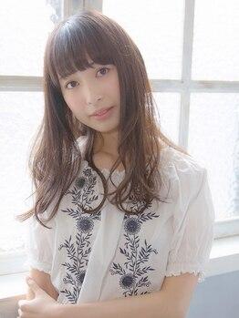 ザッツ 平井店(ZA'S)の写真/【フローディアトリートメント取扱い】ダメージ髪ほど違いを実感。女性を綺麗に見せるサラサラの手触りに♪