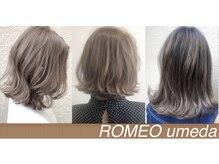 ロメオ(ROMEO)の雰囲気(オリジナルのイルミナカラー配合でより色持ちと透明感を♪)
