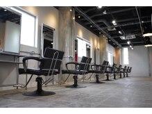 アークヘアーソア 和歌山市駅店(Arc hair soar)の雰囲気(コロナ対策でお客様との間隔をあけて施術してます)