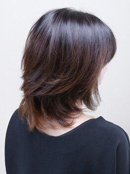 エアー(air)の写真/《カット¥2750》通いやすい価格で納得の技術を体験!独自のドライカット技術で伸びてきてもまとまる髪へ☆