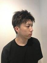 ヘアーリゾートラシックアールプラス(hair resort lachiq R+)《R+》メンズショート