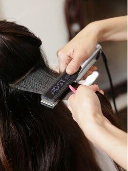 コテージ(Cottage)の写真/【桂】ダメージ毛の方も歓迎♪髪の深部から修復し、扱いやすい輝く美髪が叶う『キラ髪☆縮毛矯正』!