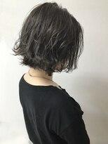 ルノン シェリー(LUNON cheliy)【LUNON cheliy】外ハネ切りっぱなしボブ×グレージュベージュ