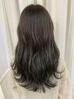 ヘアアンドメイクグラチア(HAIR and MAKE GRATIAE)暗髪7トーンマッドグレー☆