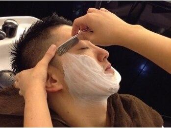 メンズサロン ブロック(Men's Salon bloc)の写真/【大通 Men's Salon bloc 】今までなかった新感覚のメンズ専門サロン!顔剃り眉カットまで完璧な仕上がりに