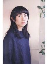 クロップクレア(CROP KLEUR)黒髪×マッシュロング