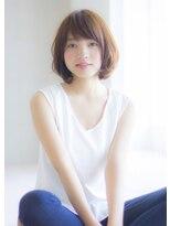 【Ramie 寺尾拓巳】ヴェールウェーブ低温デジタルパーマボブ