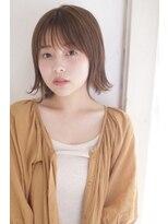 ジーナシンジュク(Zina SHINJYUKU)☆Zina☆外ハネとろみベージュ