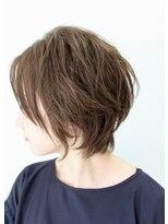 ボヌール(BONHEUR)大人可愛いショートヘア