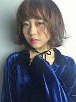 クリアーオブヘアー 栄南店(CLEAR of hair)【CLEAR】フリンジバング×ナチュラルボブ