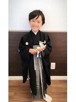 エンヴィー 町田(ENVY)七五三☆5歳男の子の袴着付け&ヘアセット☆★