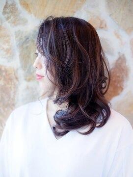 オーブ ヘアー ルル 京都四条通り店(AUBE HAIR lulu)立体感あるハイライト☆