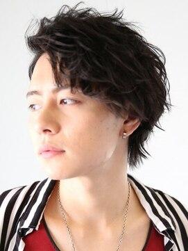 アース 長崎浜町店(HAIR&MAKE EARTH)クールなサイドパートショート