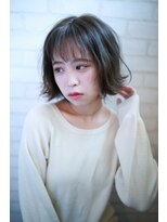 中野_イルミナカラー_人気_グレージュ_髪質改善