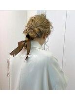 結婚式ヘアセット
