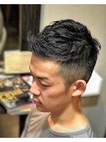 オムヘアーツー (HOMME HAIR 2)#オシャレボウズ#デザインボウズ#外国人風カット#hommehair2櫻井