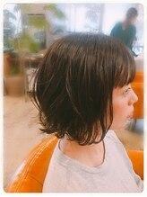 ヘアーサロン オルト(hair salon ort)外ハネボブ