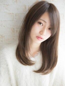 ヘアーアンドメイクノイ 笹塚店(hair and make NEU)の写真/髪への負担が本当に少なく、通常の縮毛矯正よりもリッチな質感であなたの「綺麗」が長く続く♪