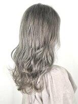 ソース ヘア アトリエ 京橋(Source hair atelier)スノーグレー