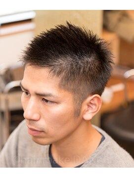 ヘアーメイク ダンス(hair make DANCE) ☆ビジネスライク ソフトモヒカン☆