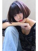 【Blanc/目黒】暖色系カラー/艶カラー/ボブerk11