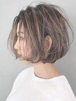 アルバム シブヤ(ALBUM SHIBUYA)ハイライトグラデーション_ワンサイドショート_ba203522