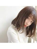 【GARDEN伊藤愛子】ショコラブラウンワンカールボブ