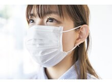 トゥエンティーフォー 泉大津店(24)の雰囲気(お客様もマスク着用されたまま、施術可能です。)