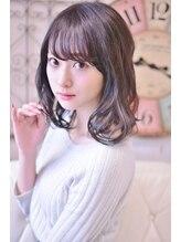 メイズ(MAZE)黒髪ゆるふわミディ【メイズ東中野・鍛原志行】