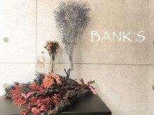 バンクスヘアー(BANK'S HAIR)の雰囲気(ドリンクサービスも充実♪落ち着いた空間で癒しのひと時を。)