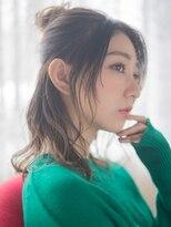 オジコ(ojiko)☆月曜日も営業☆【ojiko.】オトナ女性のお団子ハーフアップ