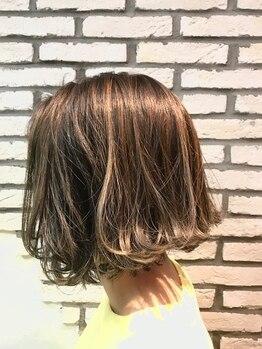 アルテバイスピリティ(ARTE by sprity)の写真/施術前より施術後のほうが髪が潤う?!思わず触りたくなる艶髪へ♪自慢したくなるようなオシャレカラー☆