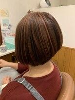 テトラ ヘアー(TETRA hair)ボブ×ハイライト