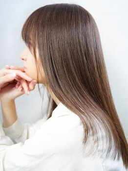 ネオリーブアイム(Neolive aim)の写真/丸みのある艶やかな美髪を叶える縮毛矯正☆本物の技術と最高品質の薬剤で今までにない手触りに♪