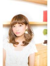 アーツ 町田店(Hair&Make arts)ふんわりセミディスタイル