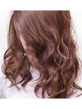エメールヘア(aimere hair)夏にギラッとブルージュカラー
