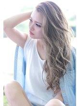 エイトハラジュク 原宿店(EIGHT harajuku)【EIGHT原宿】ハイライトグラデーションカラー× グレージュ