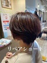 ハピエル ヘアークルー(HAPPYEL hair crew)イメチェンリペアショート