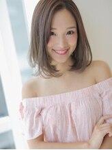 アグ ヘアー ヴェロチタ 広島中央通り店(Agu hair velocita)最旬カラーで可愛さもプラス☆大人モードボブ
