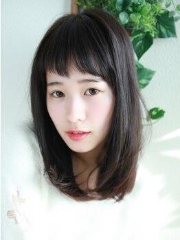 ビレア 極楽店(BELEA)の写真/【名東区/極楽】低ダメージ☆コスメストレートで自然な仕上がりのサラ艶髪へ―。