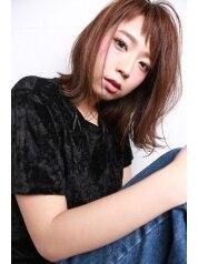 【新春クーポン♪】カット+カラー+高濃度トリートメント♪13500→10800円