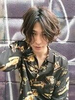 mowenイルミナカラーxデジタルパーマxヘルシーレイヤーx黒髪