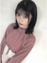 ミディアムヘア★パーソナルカラー★似合わせ★黒髪