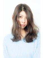 リバティーエル 勝どき店(LIBERTY-L)暗髪でも透明感のあるアッシュグレージュブラウン
