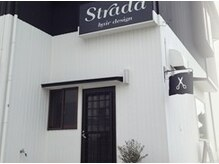 ストラダ ヘア デザイン(Strada hair design)の雰囲気(黒の看板が目印です☆ 森本駅徒歩10分)