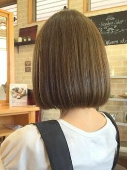 """フィフティフィフティ(FIFTY FIFTY)の写真/""""ネオリシオ"""" 導入!今までの縮毛矯正のイメージを払拭し、柔らかい質感の理想的なストレートヘアへ☆"""