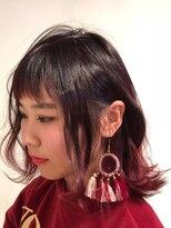 ヘアー アイス カンナ(HAIR ICI Canna)RED×gradation